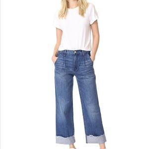 NWT 3x1 Cropped High Waisted Jeans